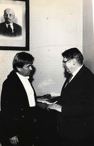 with conductor Vladimir           Fedosseyev
