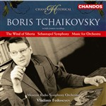 "Premiere recordings: ""The Wind of                     Siberia"", ""Music for Orchestra"";                     Sebastopol Symphony: Chandos Records, 2005"