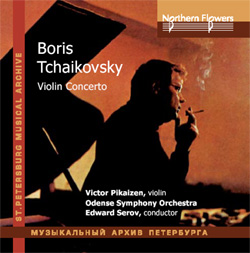 Violin Concerto (first                     recording on the CD!). V.Pikaizen, Odense                     Symphony/E.Serov (live recording 1994)
